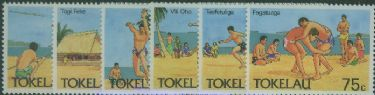 TOK SG148-53 Tokelau Olympic Sports set of 6